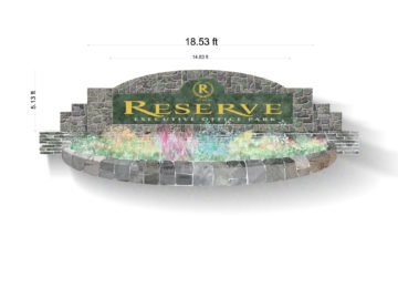 Reserve Sign, 1st Version