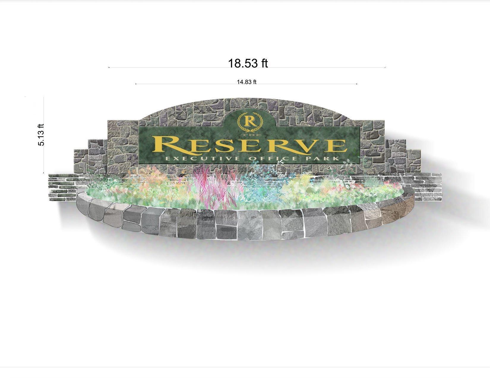 Reserve Sign, 1st Version