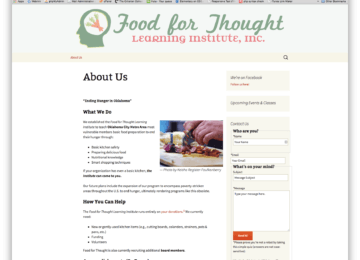 Food for Thought Learning Institute (Homepage)