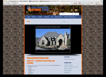 OklahomaStone.com Homepage