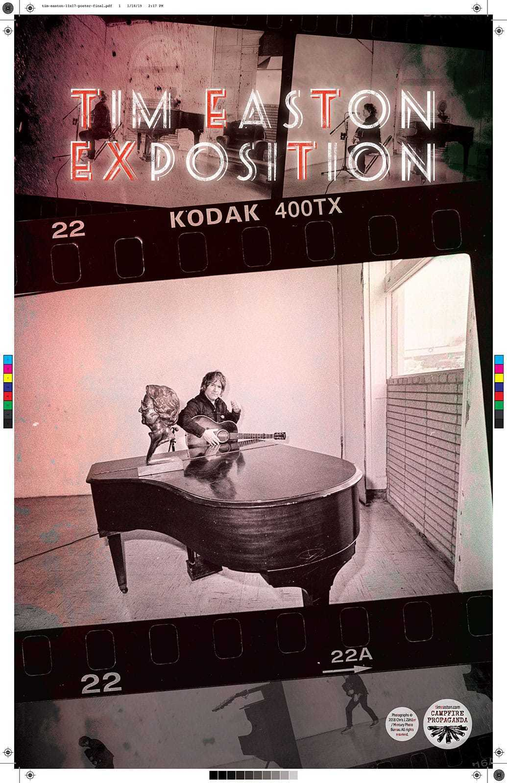 Tim Easton Exposition Poster