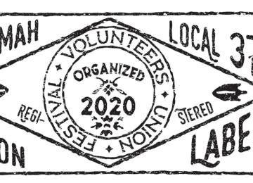 Festival Volunteers Union Label