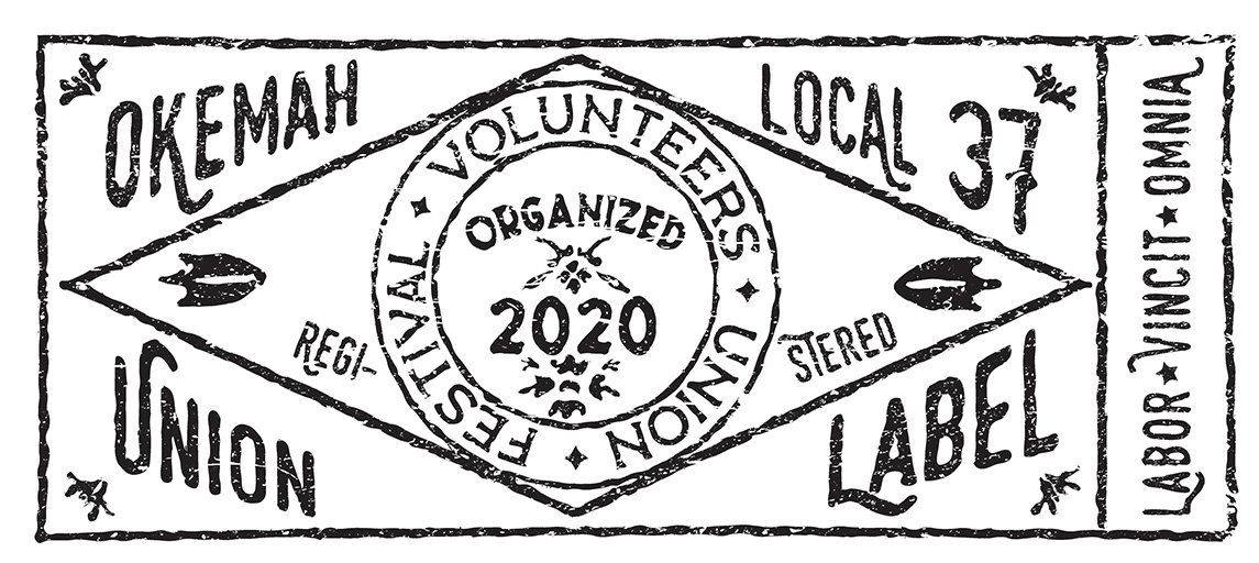 Festival Volunteers Union Label